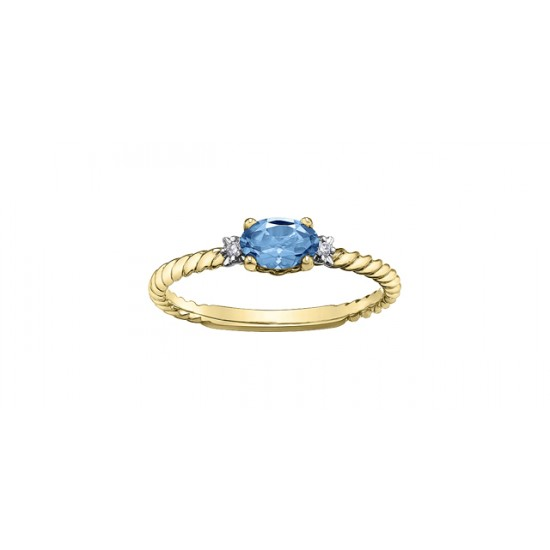Bague à diamants