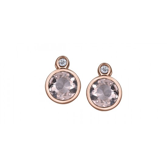 Boucles d'oreilles à diamants