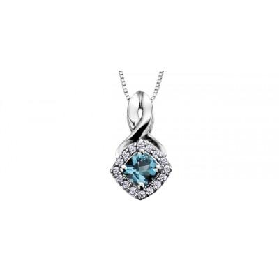 Pendentif à diamants