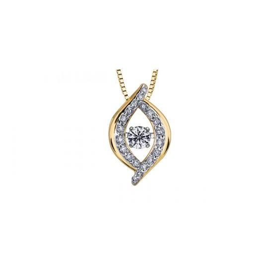 Pendentif à diamant