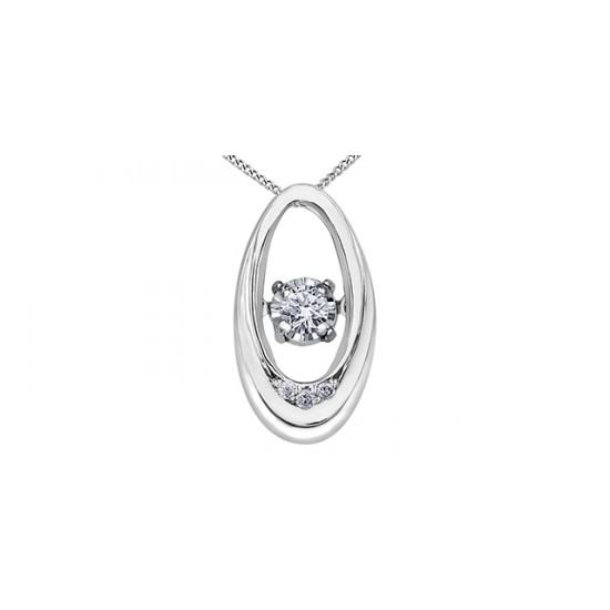 Pendentif à diamant PULSE